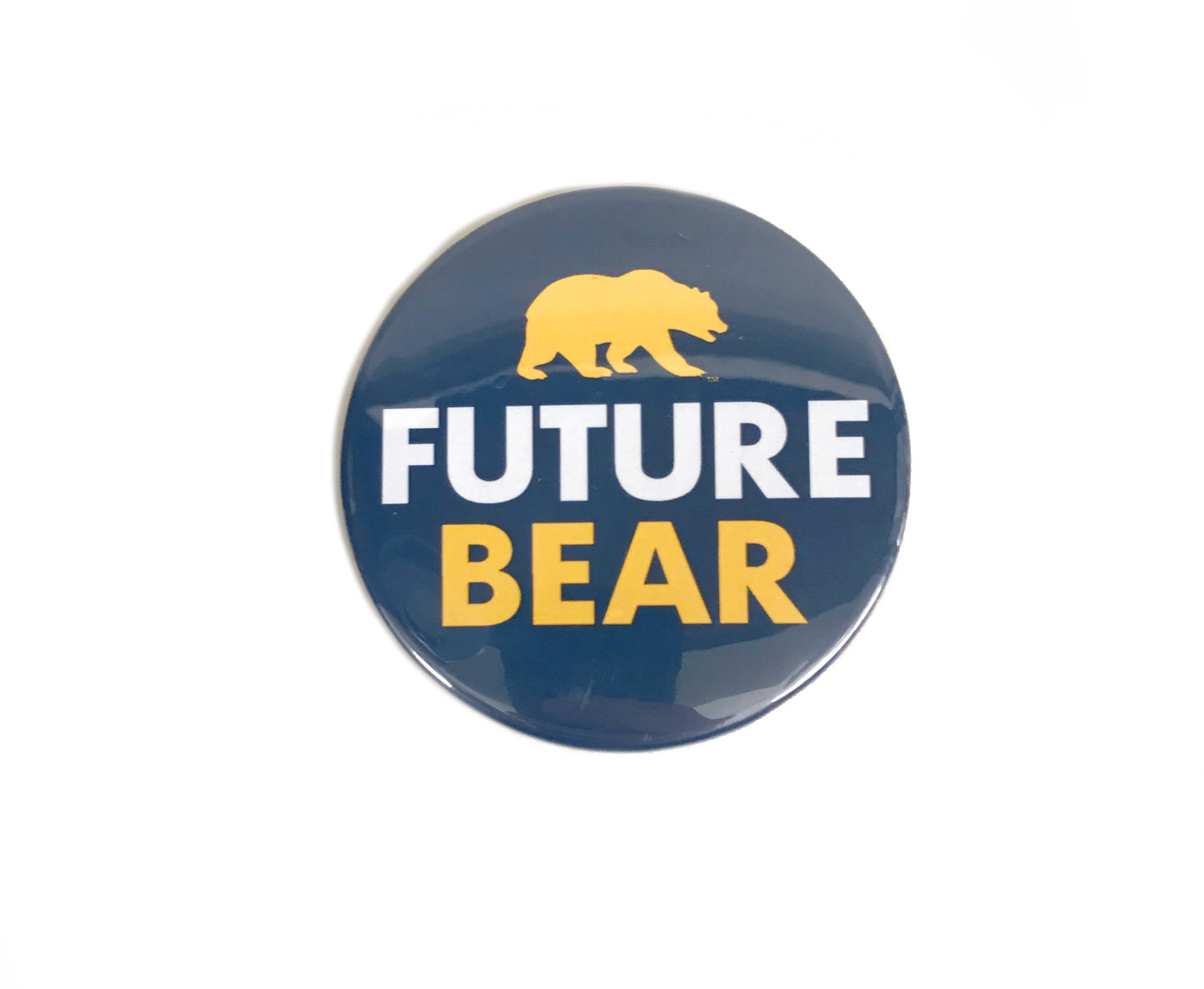 University of California Berkeley Future Bear Button