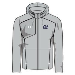 University of California Berkeley Under Armour Jacket Limitless Script Cal Logo