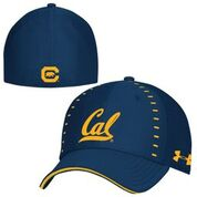 Cal Bears Under Armour Men's Sideline Blitzing Accent Stretch 3.0 Hat