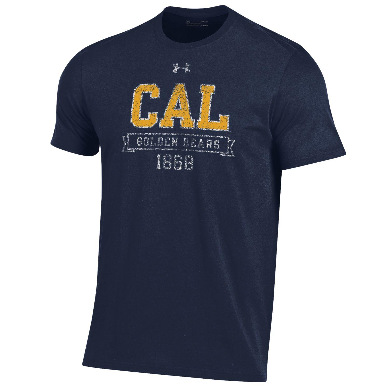 Cal Bears Under Armour Men's Performance Cotton SS Tee