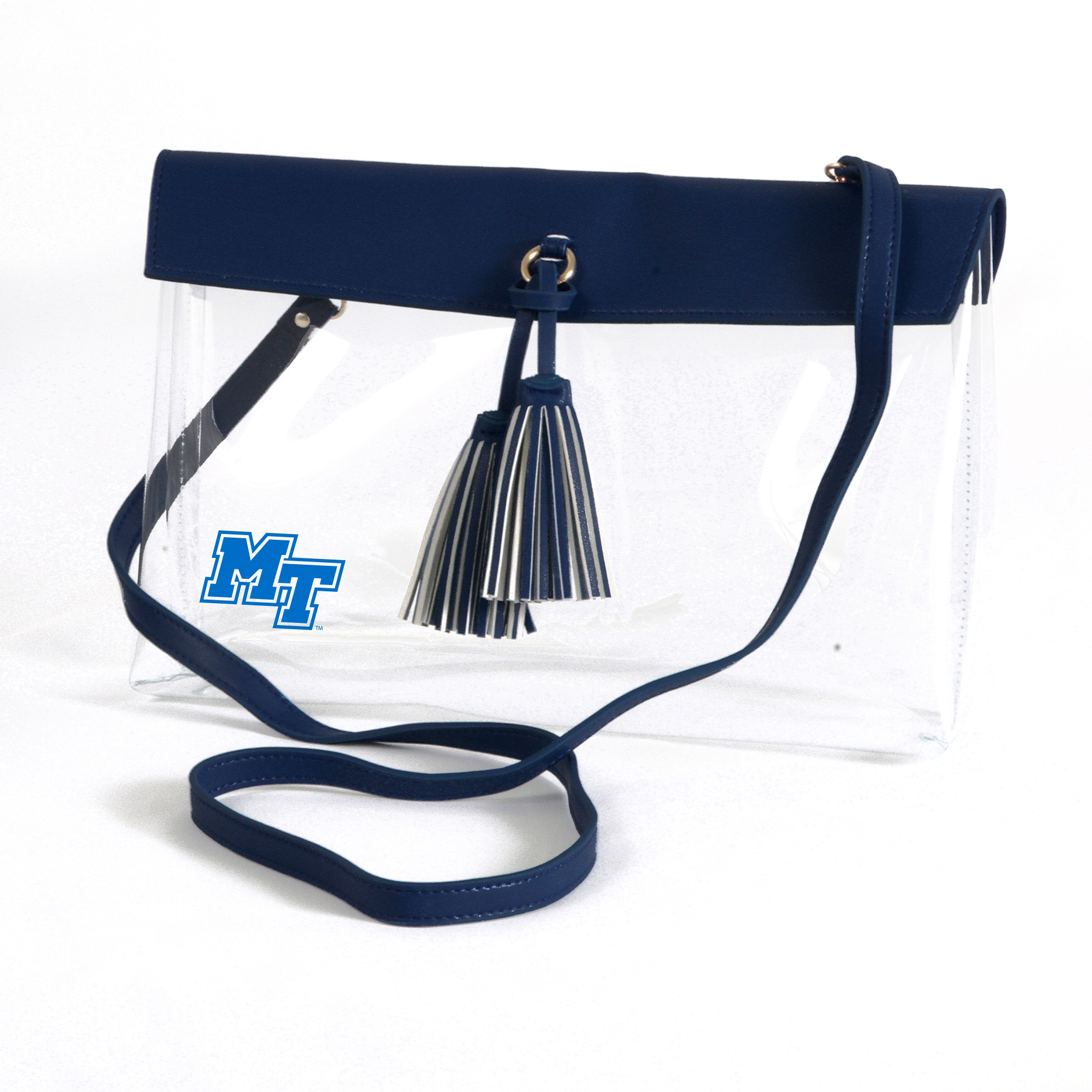 MT Logo Rara Clear Purse