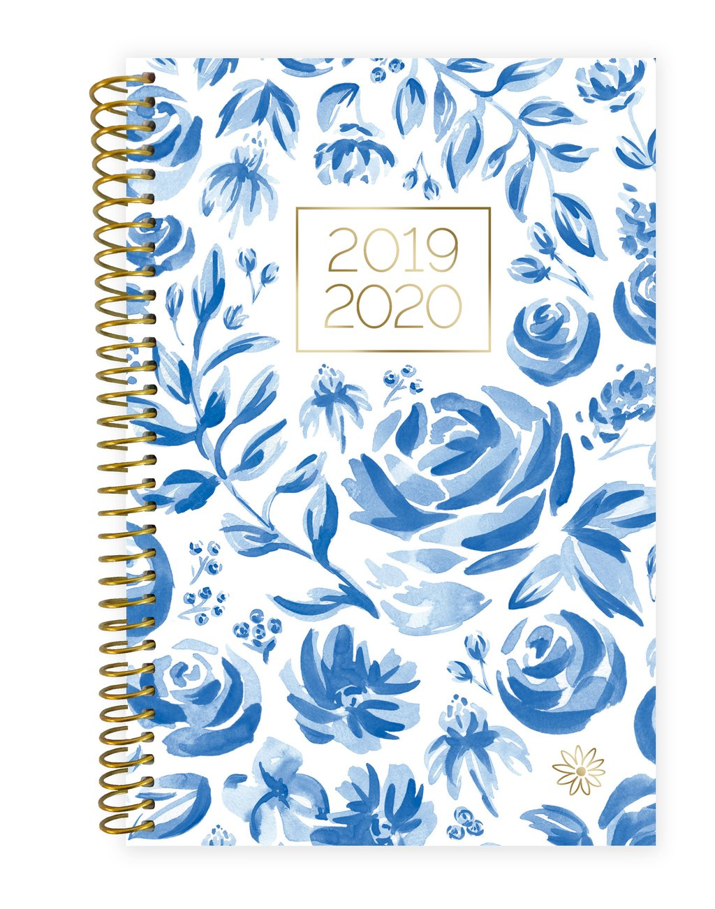 Blue & White Floral - 2020 Soft Cover Planner