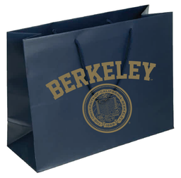 Cal Bears Large Matte Gift Tote with Seal