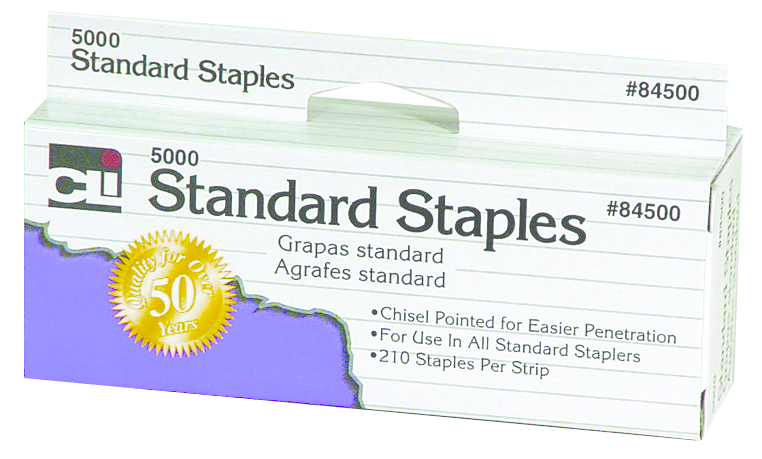 Charles Leonard Staples - Silver Standard 5000Ct Box