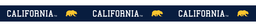 Cal Bears Sublimated Shoelaces 'California'