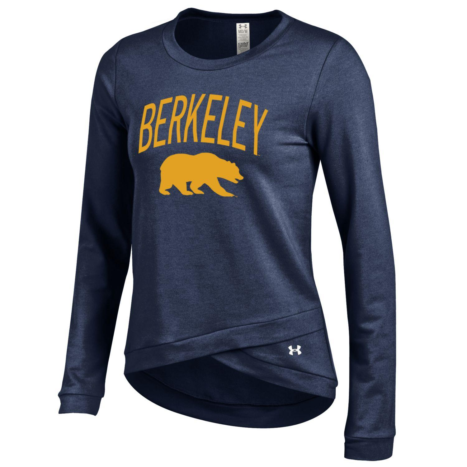 University of California Berkeley Under Armour Women's Cross Over Crew Bear