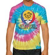 Cal Bears Grateful Golden Bears Rainbow Tie Dye Tee