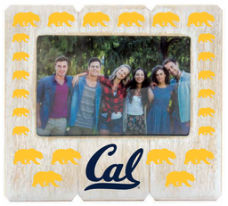 Cal Bears 6x4 Distressed Wood Frame