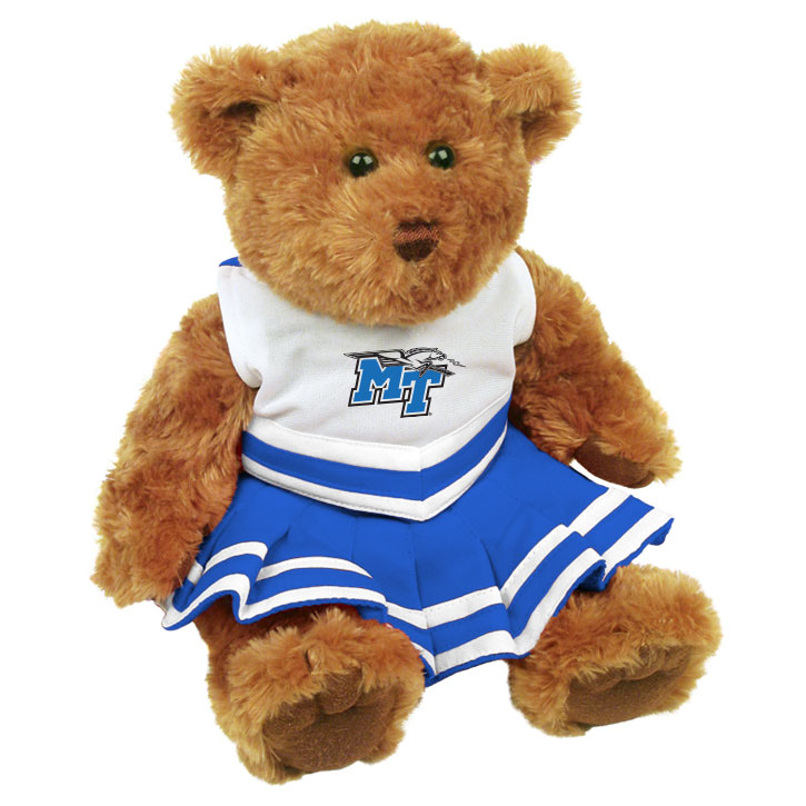"MT Logo w/ Lightning 10"" Cheerleader Bear"