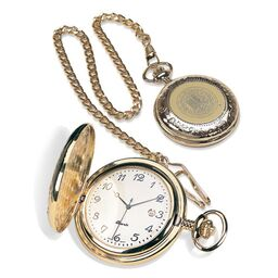 Cal Bears CSI Pocket Watch with Seal