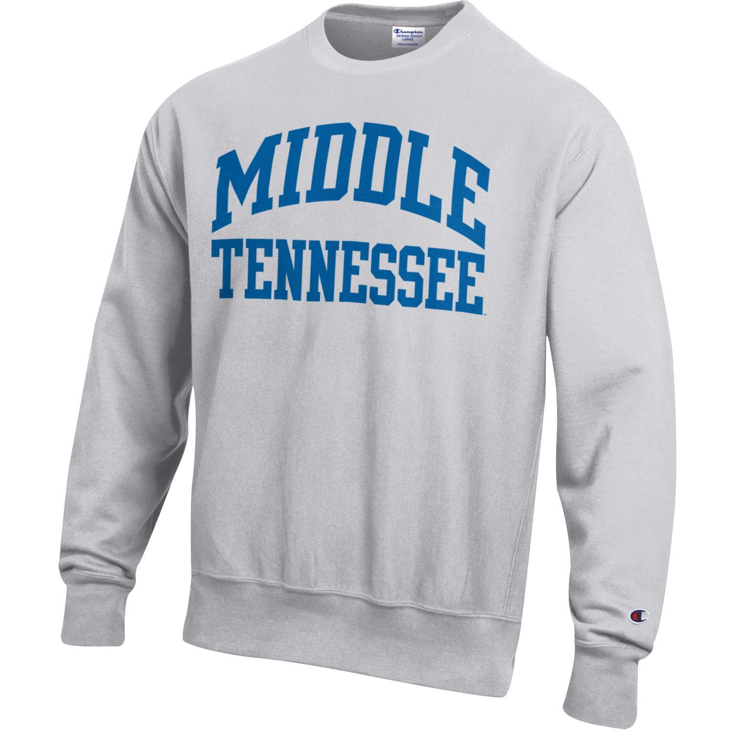 Middle Tennessee Reverse Weave Crewneck Sweatshirt