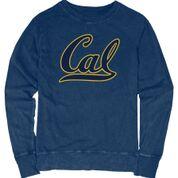 "University of California Berkeley Carmen Ladies L/S Crew Neck Tee ""Cal"""