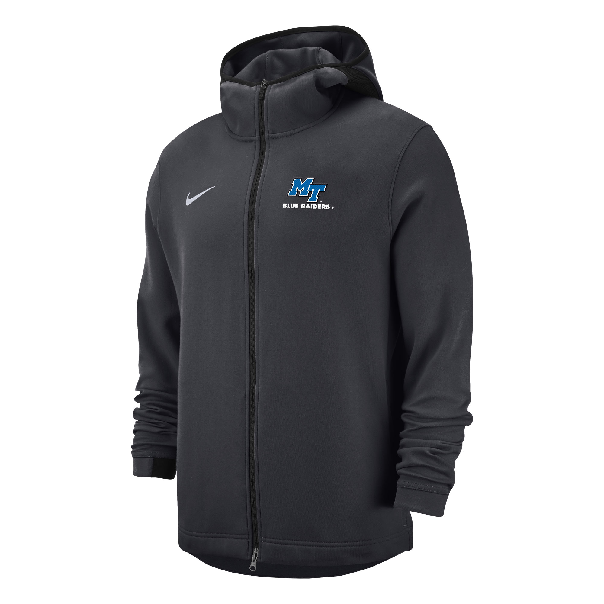 MT Blue Raiders Nike® Sideline Showtime Full Zip Hoody