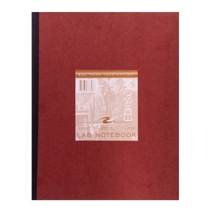 "LABBK GREEN NUMBERED 1-152 11.75""x9.25"" GREEN PAPER RED COV"