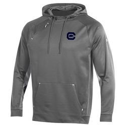 University of California Berkeley Under Armour  Grid Fleece Hood C Bear Logo