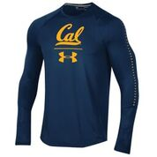 Cal Bears Under Armour Sideline LS Training Tee