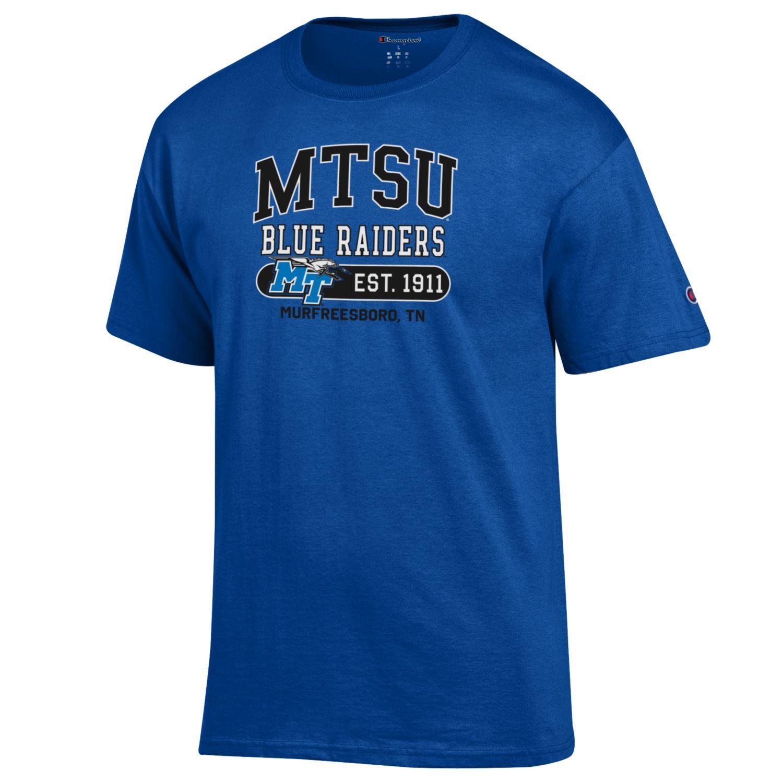 MTSU Blue Raiders Est. 1911 Murfreesboro Tshirt