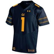 University of California Berkeley Under Armour Sideline Football Replica Jersey