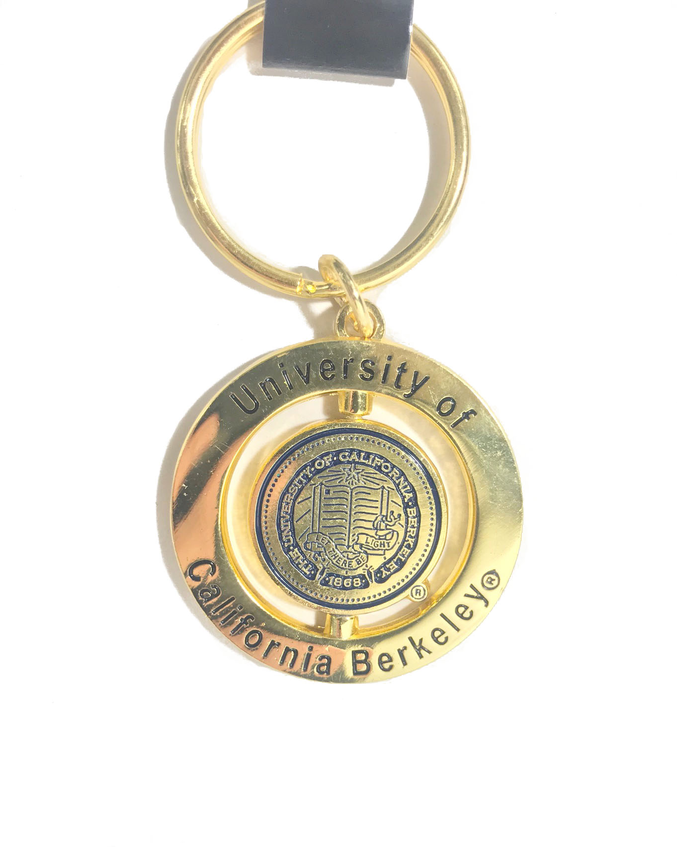 Cal Bears Key Tag Spinner