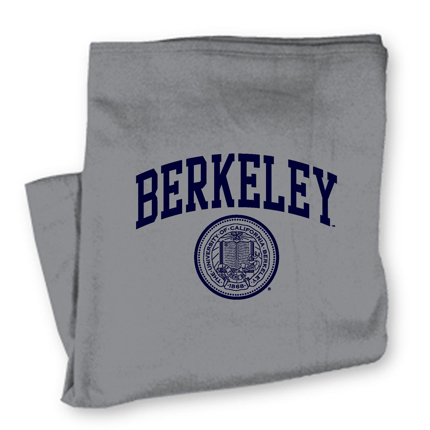 University of California Sweatshirt Blanket Berkeley with Seal