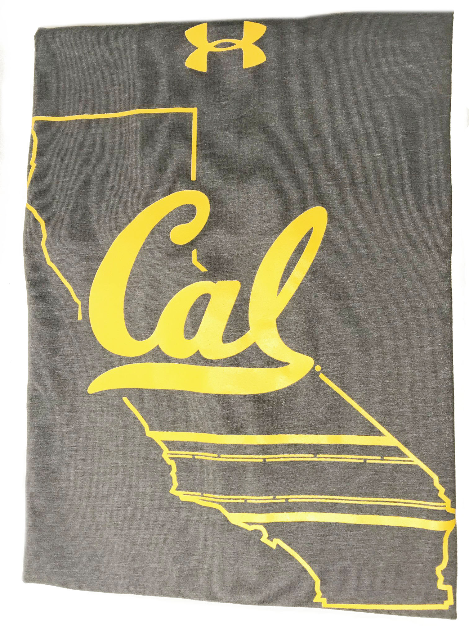 University of California Berkeley Under Armour Men's Charged Cotton Tee