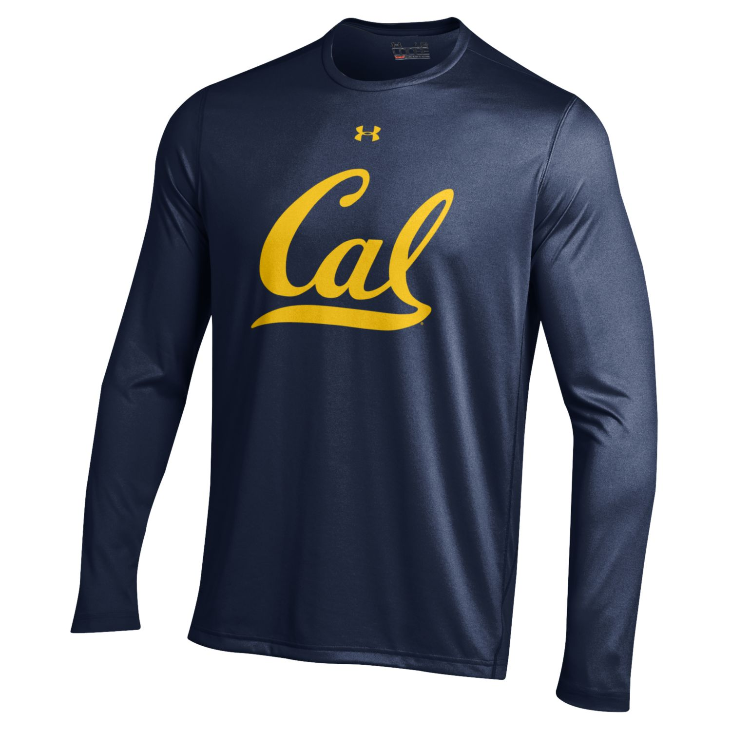 University of California Berkeley Under Armour Men's LS Tech Tee Cal Logo