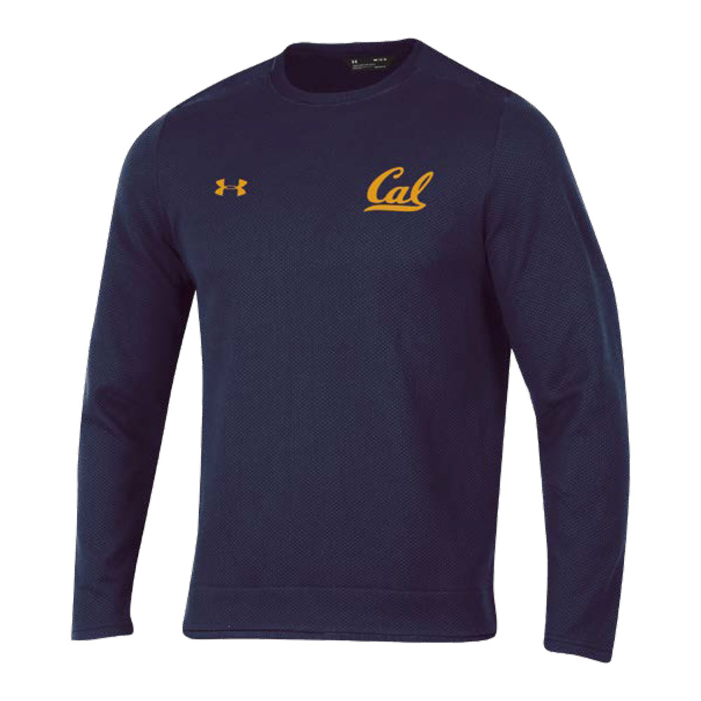 Cal Bears Under Armour F18 Men's Novelty Knit Crew