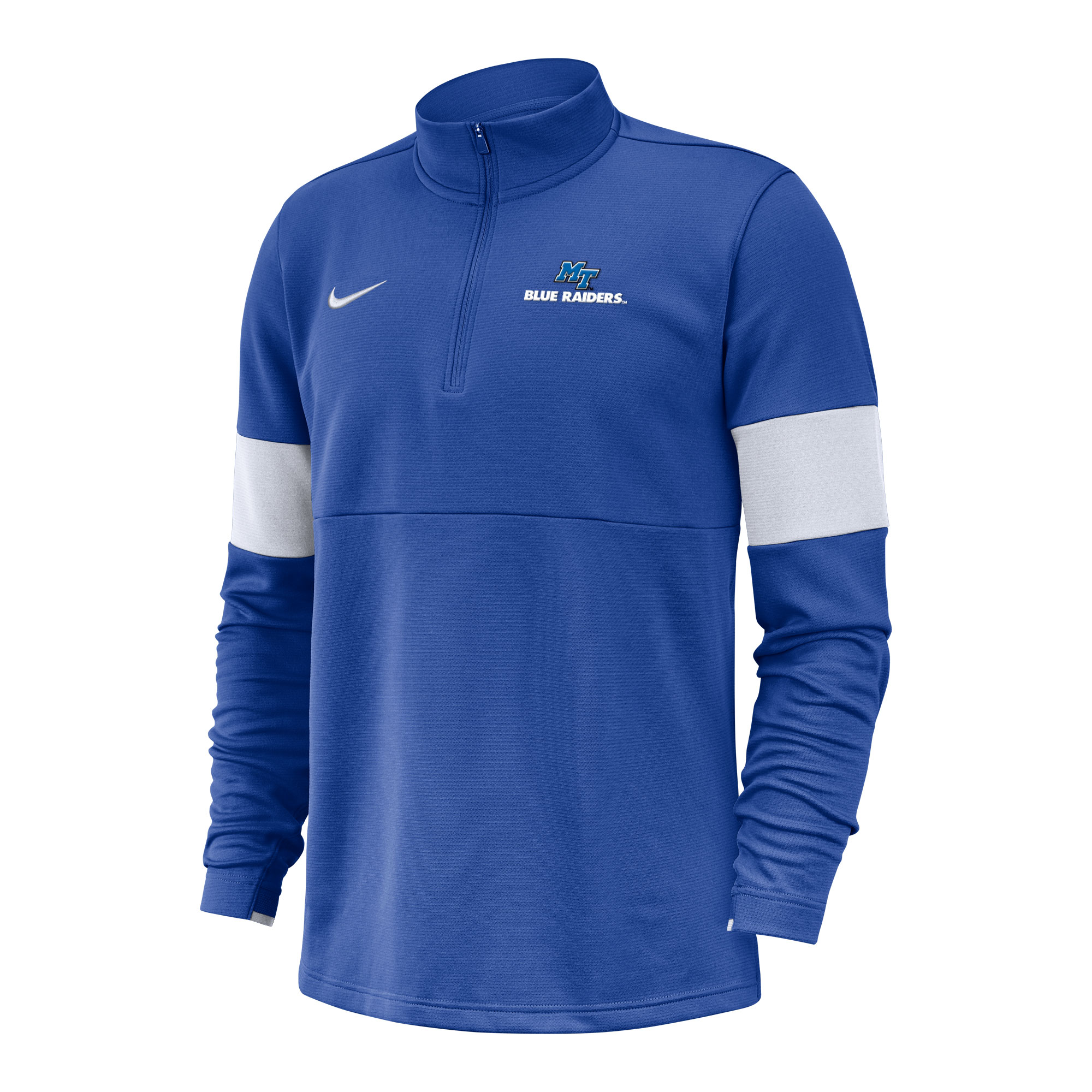 MT Blue Raiders Coach 1/2 Zip Nike® Sideline Pullover