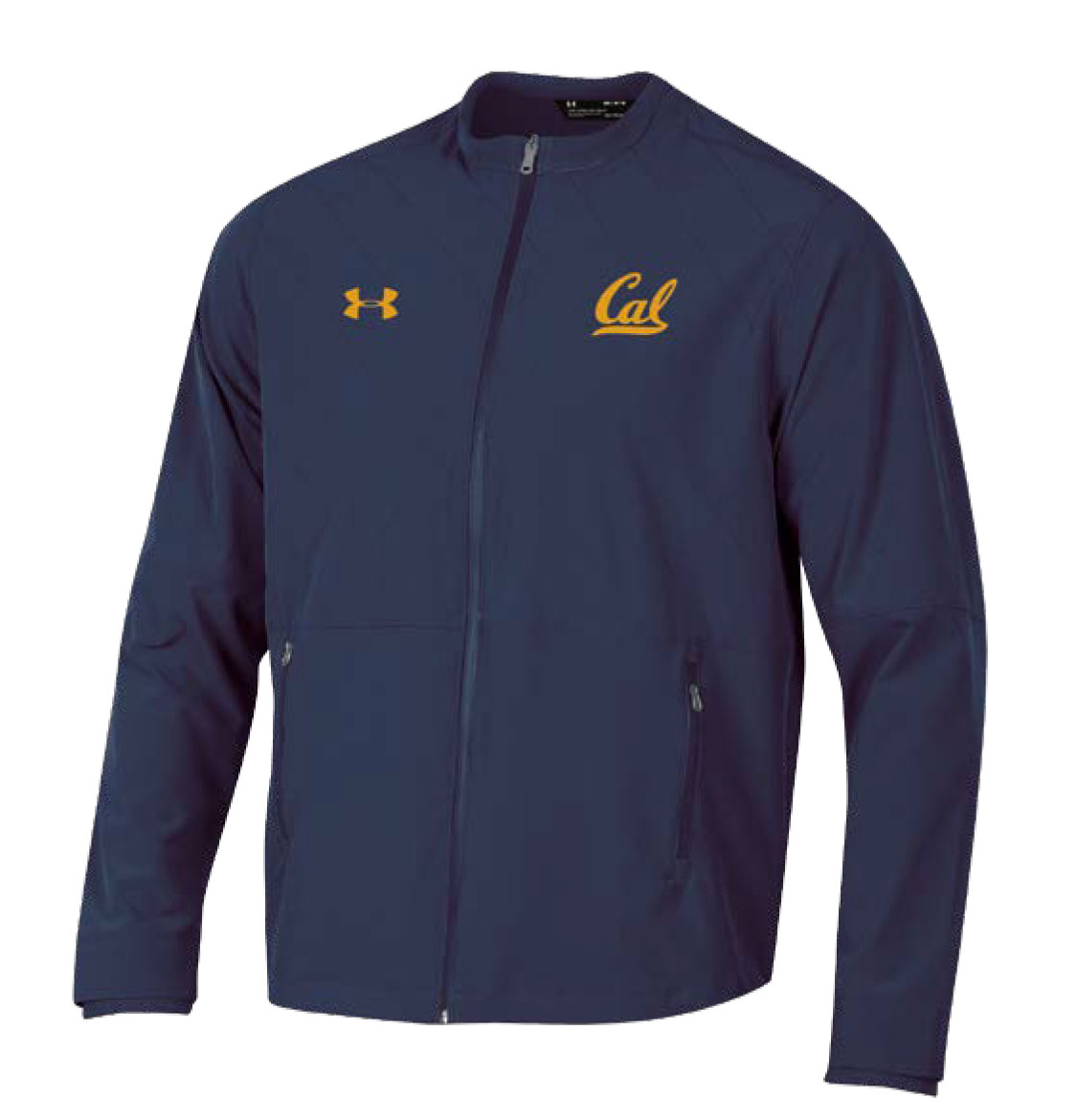 Cal Bears Under Armour F18 Men's Woven Warmup Jacket