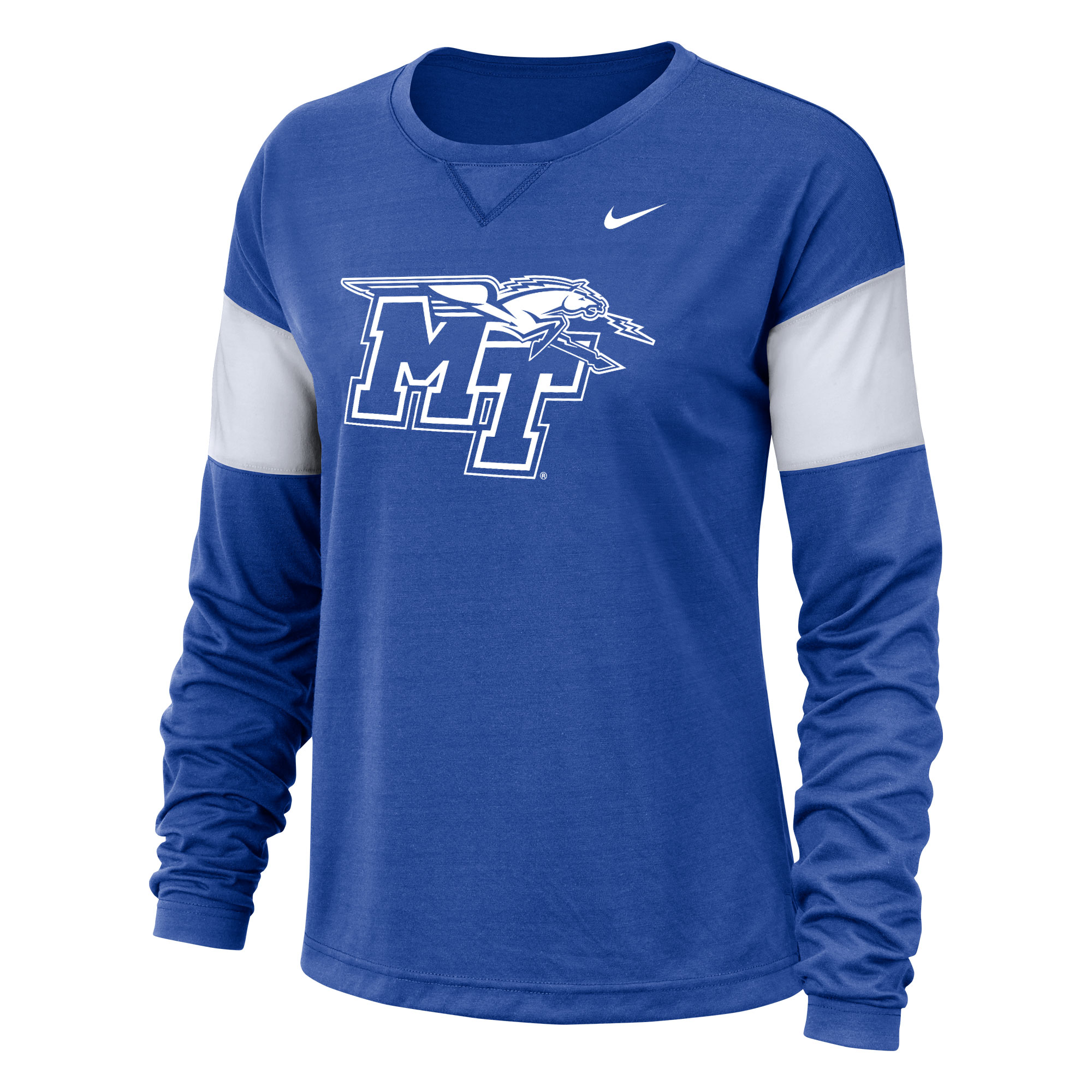Youth MT Logo w/ Lightning LS Cotton Nike® Sideline Shirt
