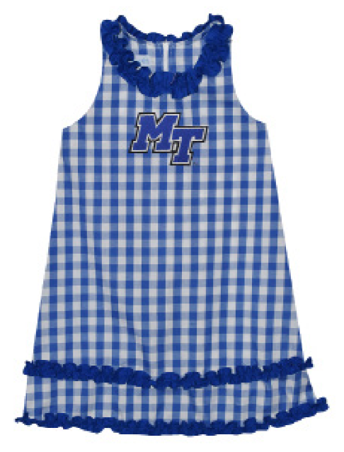 MT Logo Toddler Ruffle Dress