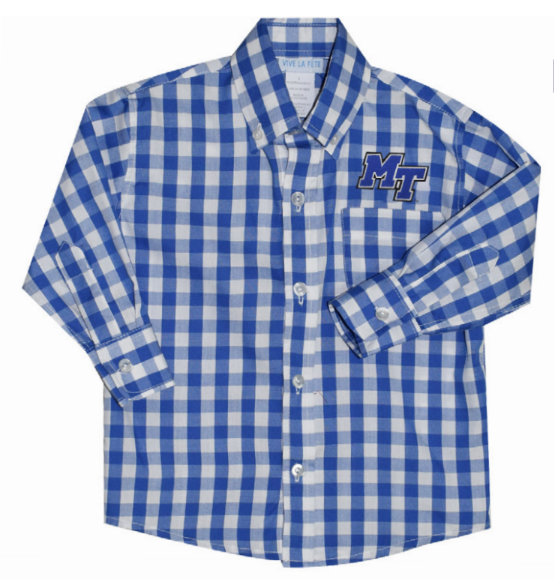 MT Logo Toddler Button Down Shirt