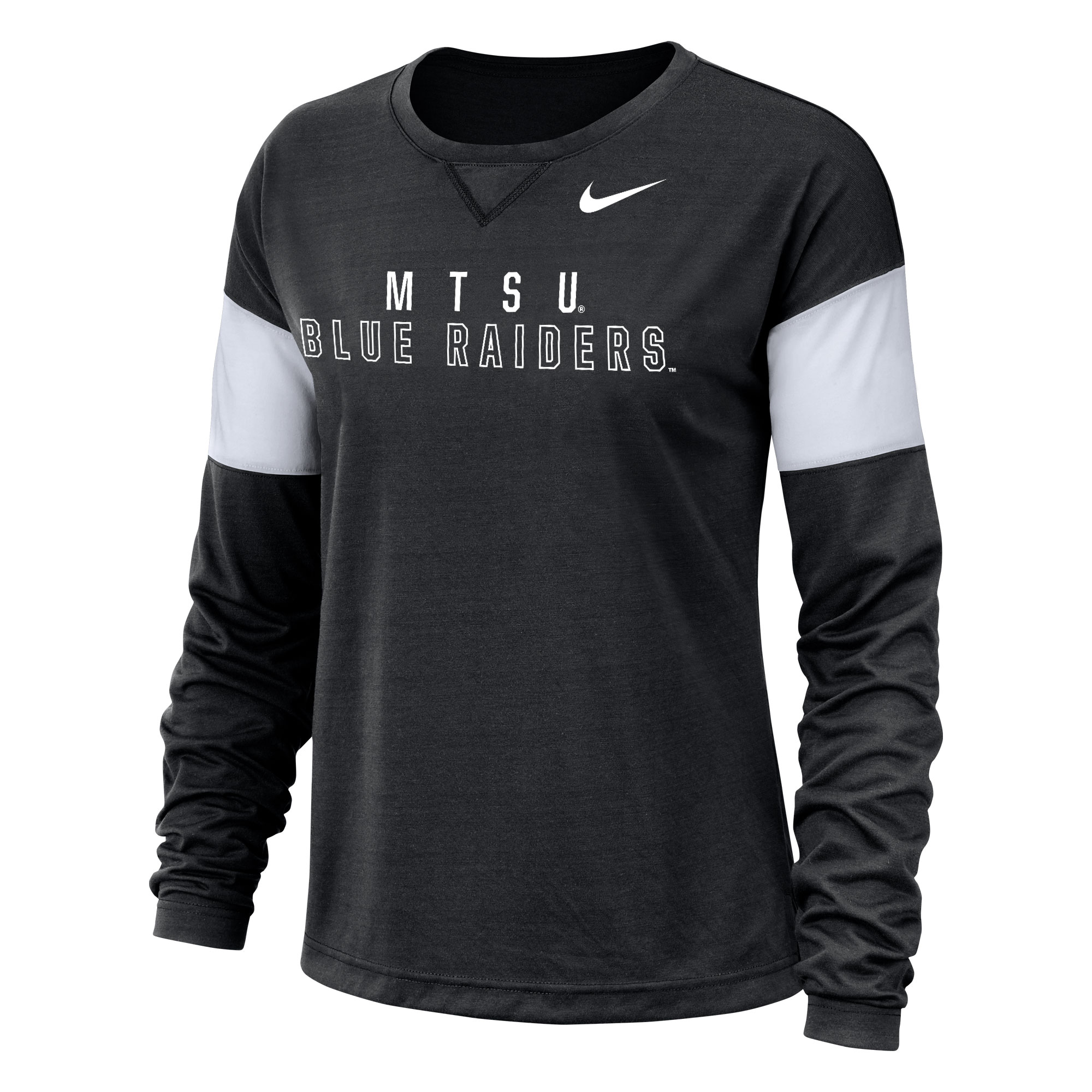 MTSU Blue Raiders Women's Nike® LS Breathe Top