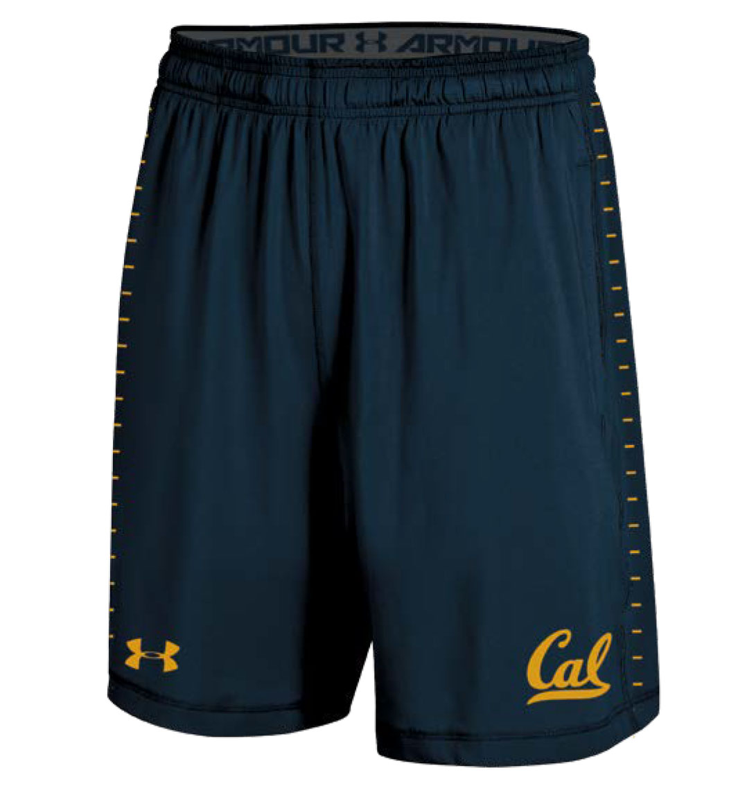 Cal Bears Under Armour F18 Youth Training Short