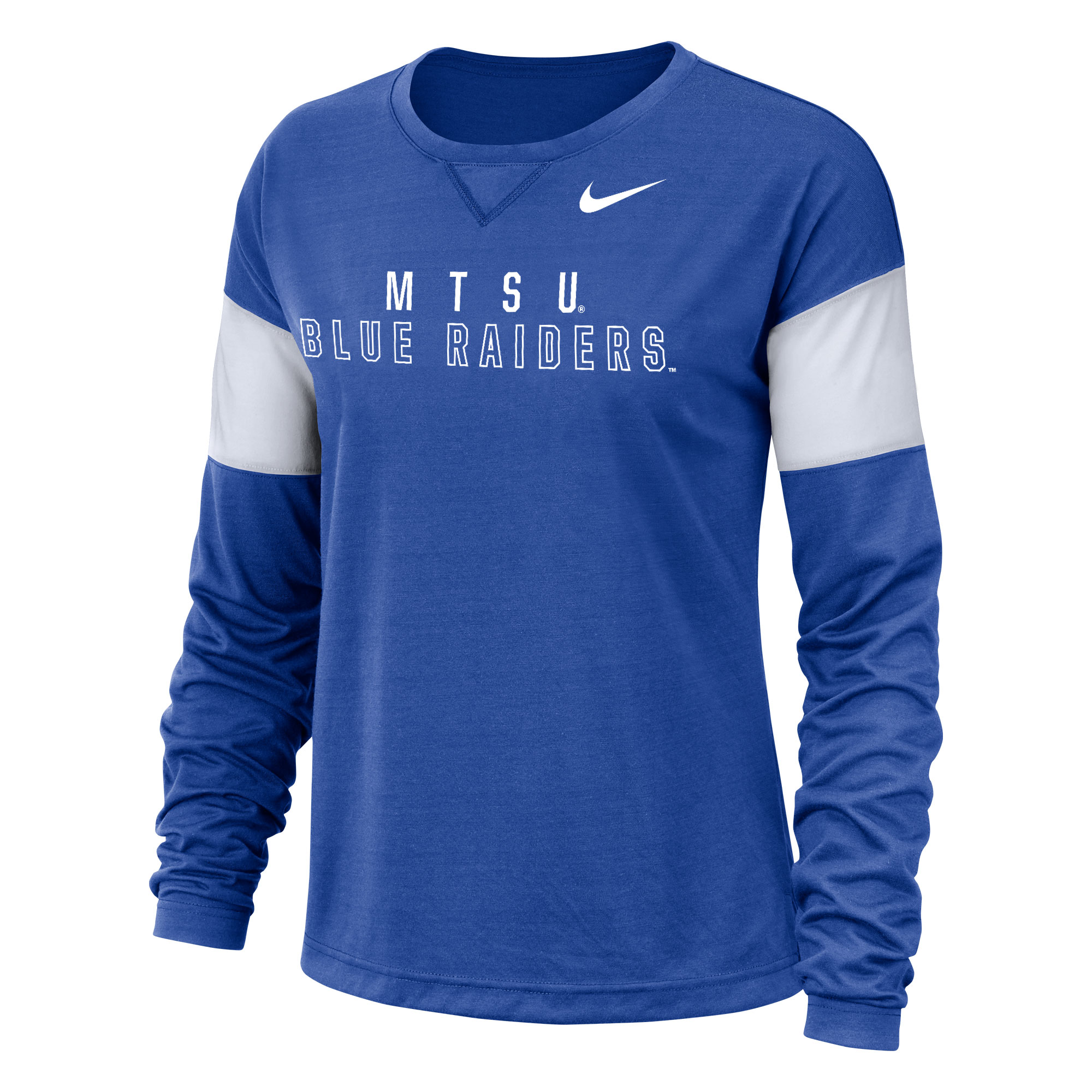 MTSU Blue Raiders Women's Nike® LS Breathe Top