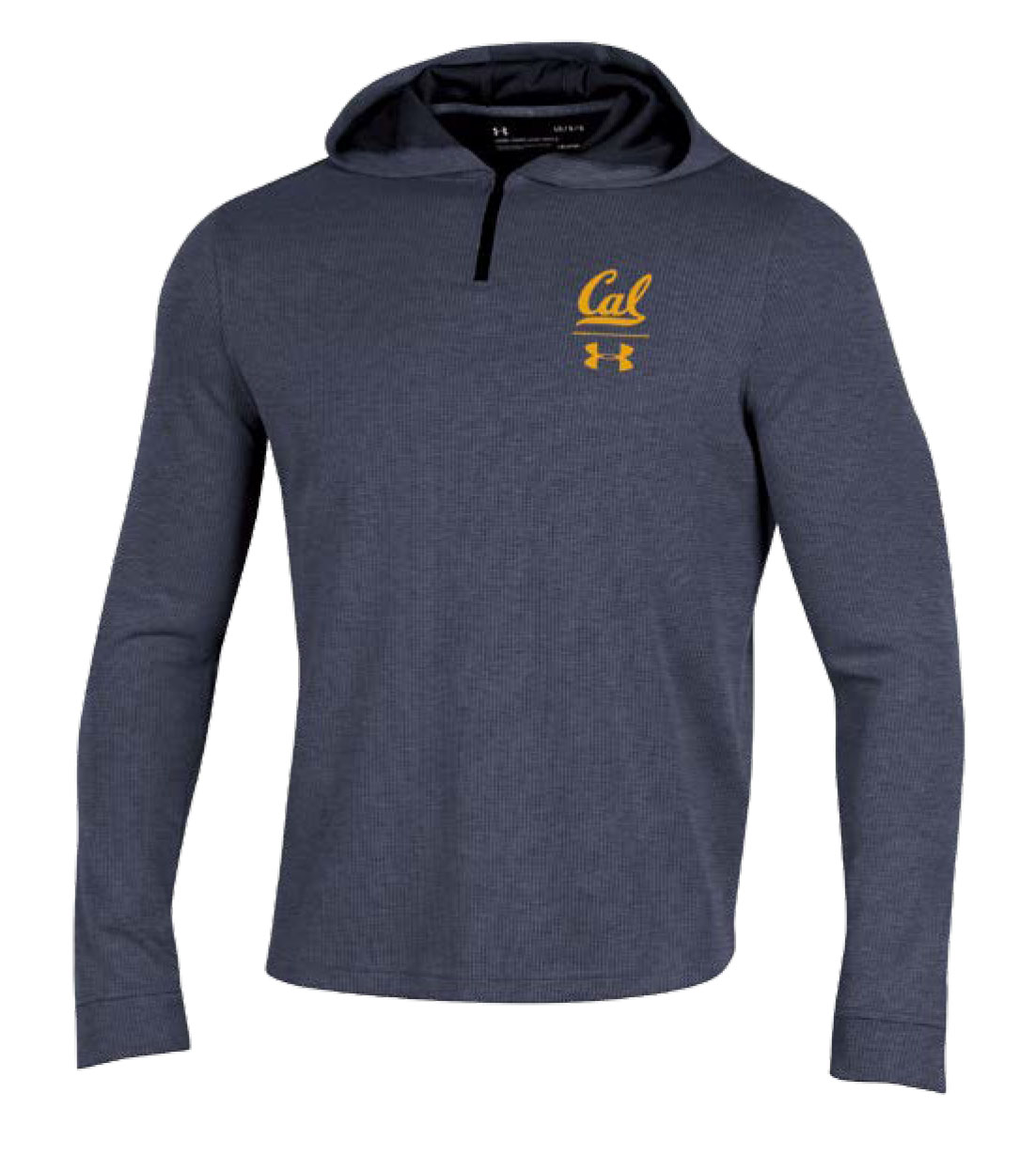 MD25-Cal Bears Under Armour Sideline F18 Men's Waffle Hoody