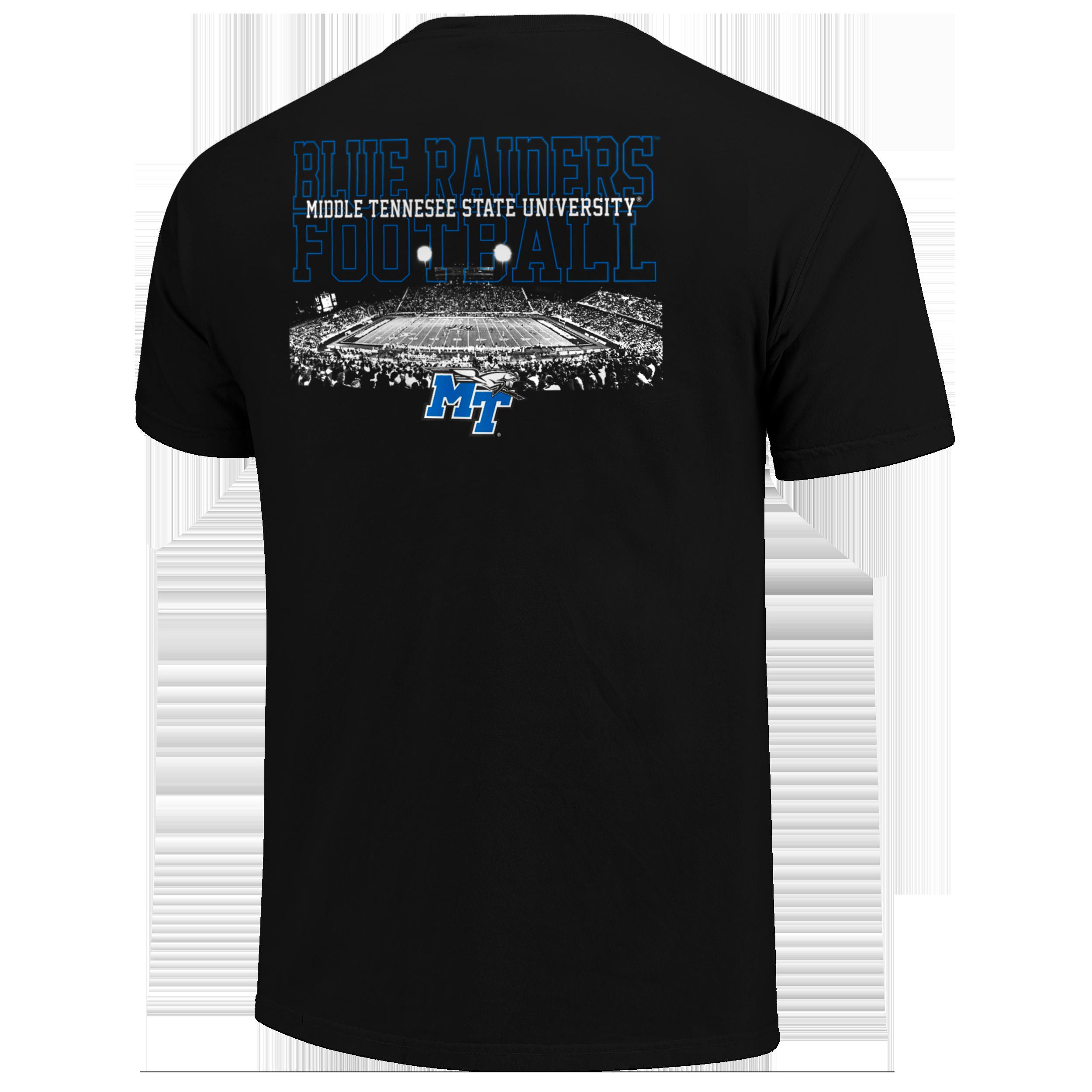 MT Blue Raiders Football Field Tshirt