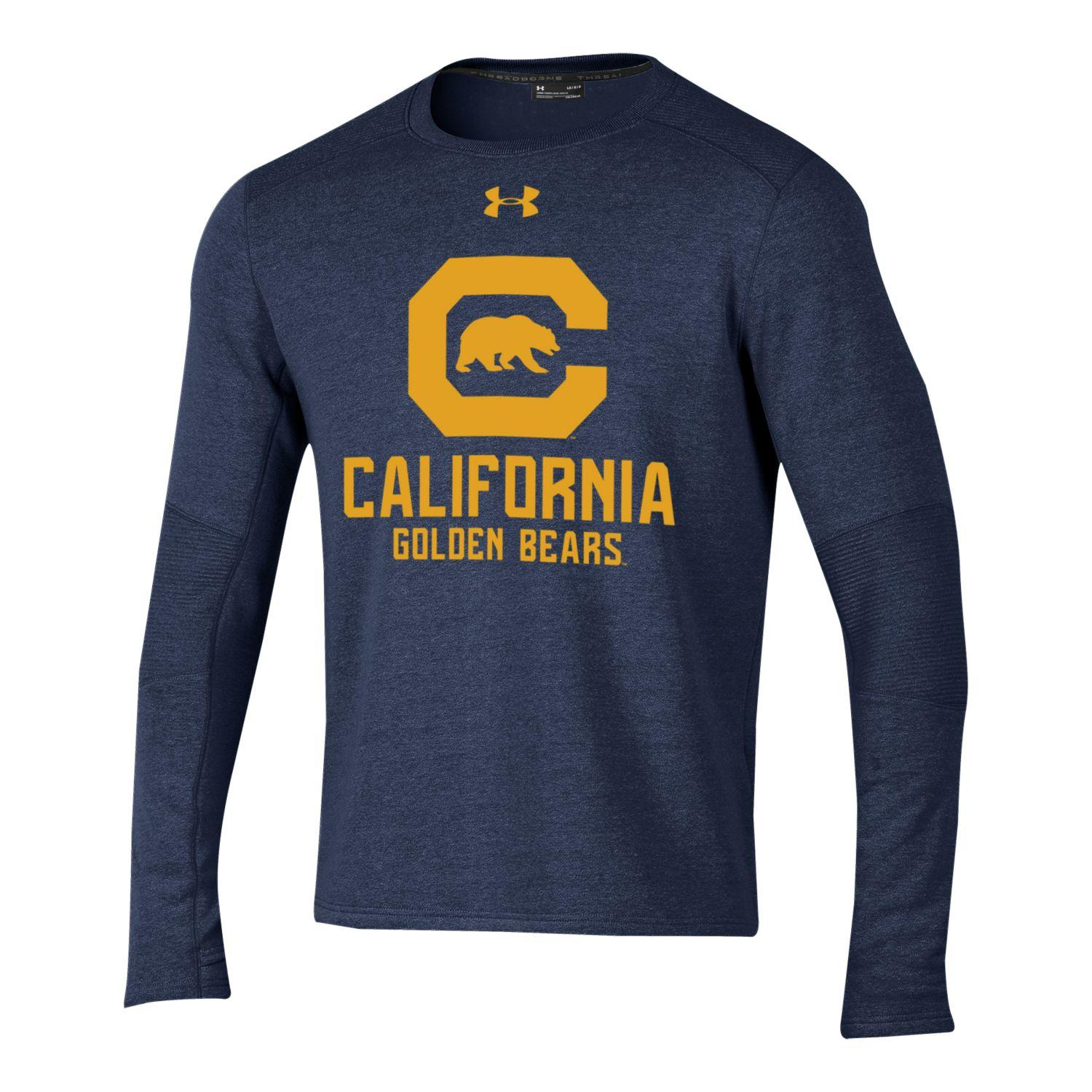 Cal Bears Under Armour Men's SMU Threadborne Ridge Crew