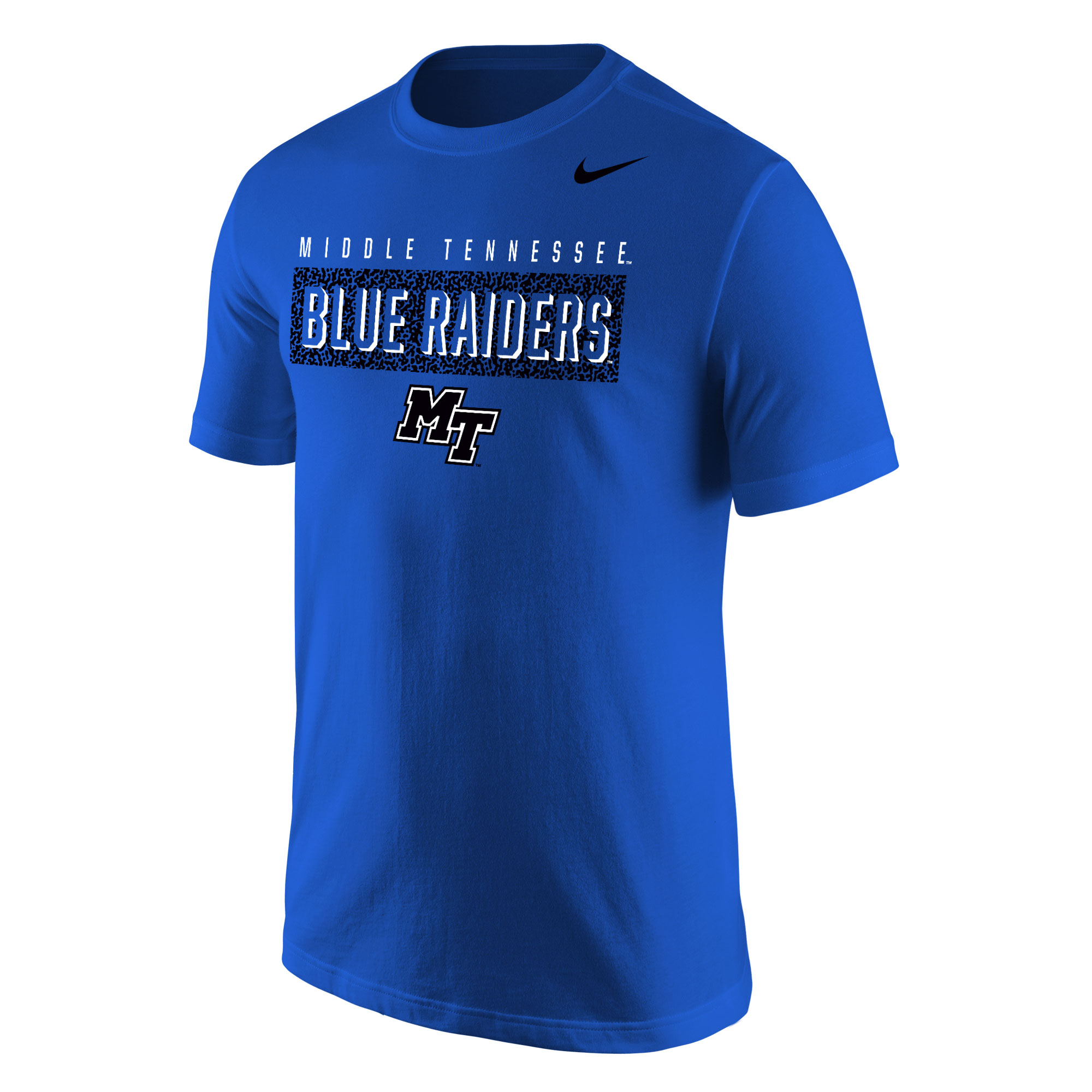 Middle Tennessee Blue Raiders w/ MT Logo Nike® Core Shirt