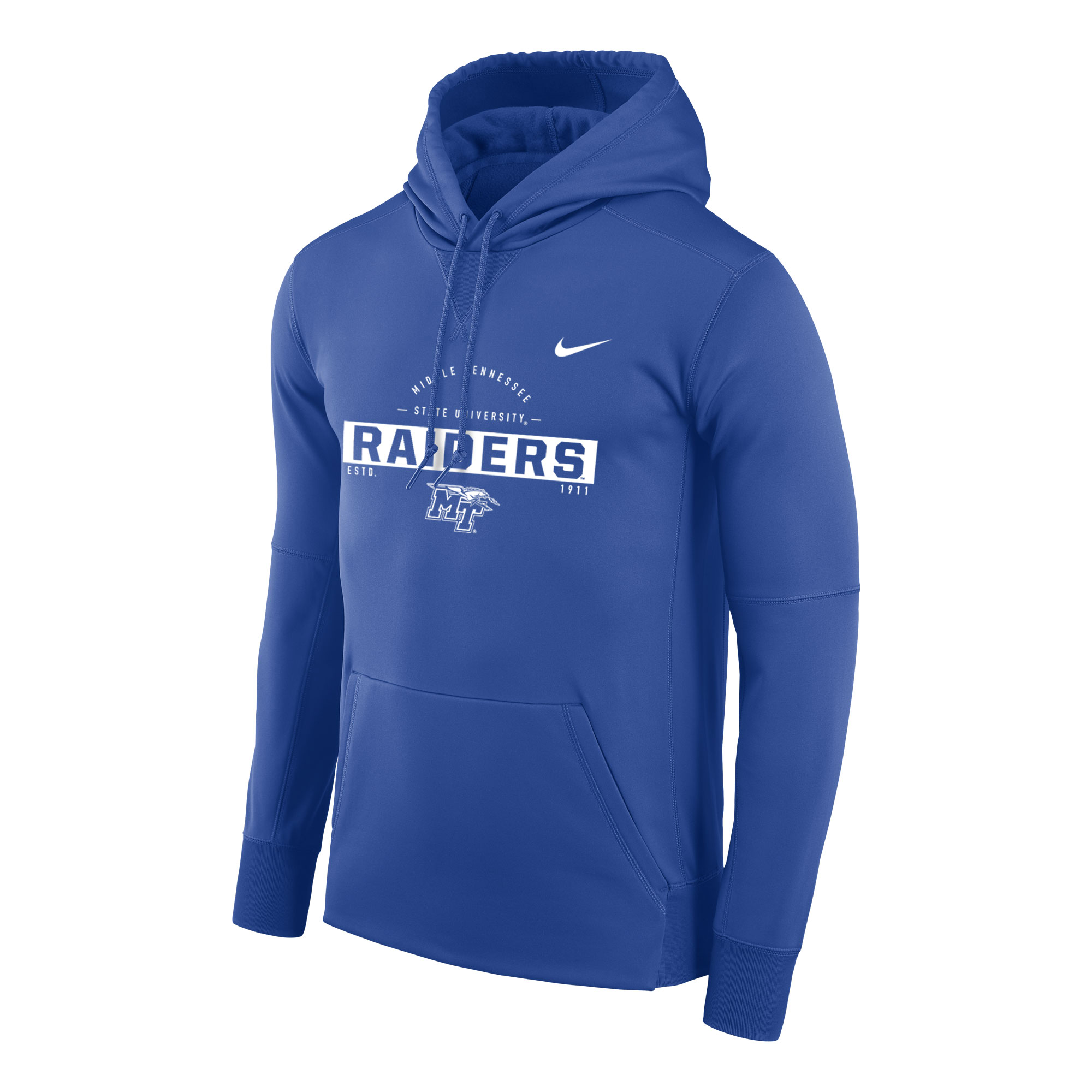 Middle Tennessee State University Raiders Nike® Therma PO Hoodie