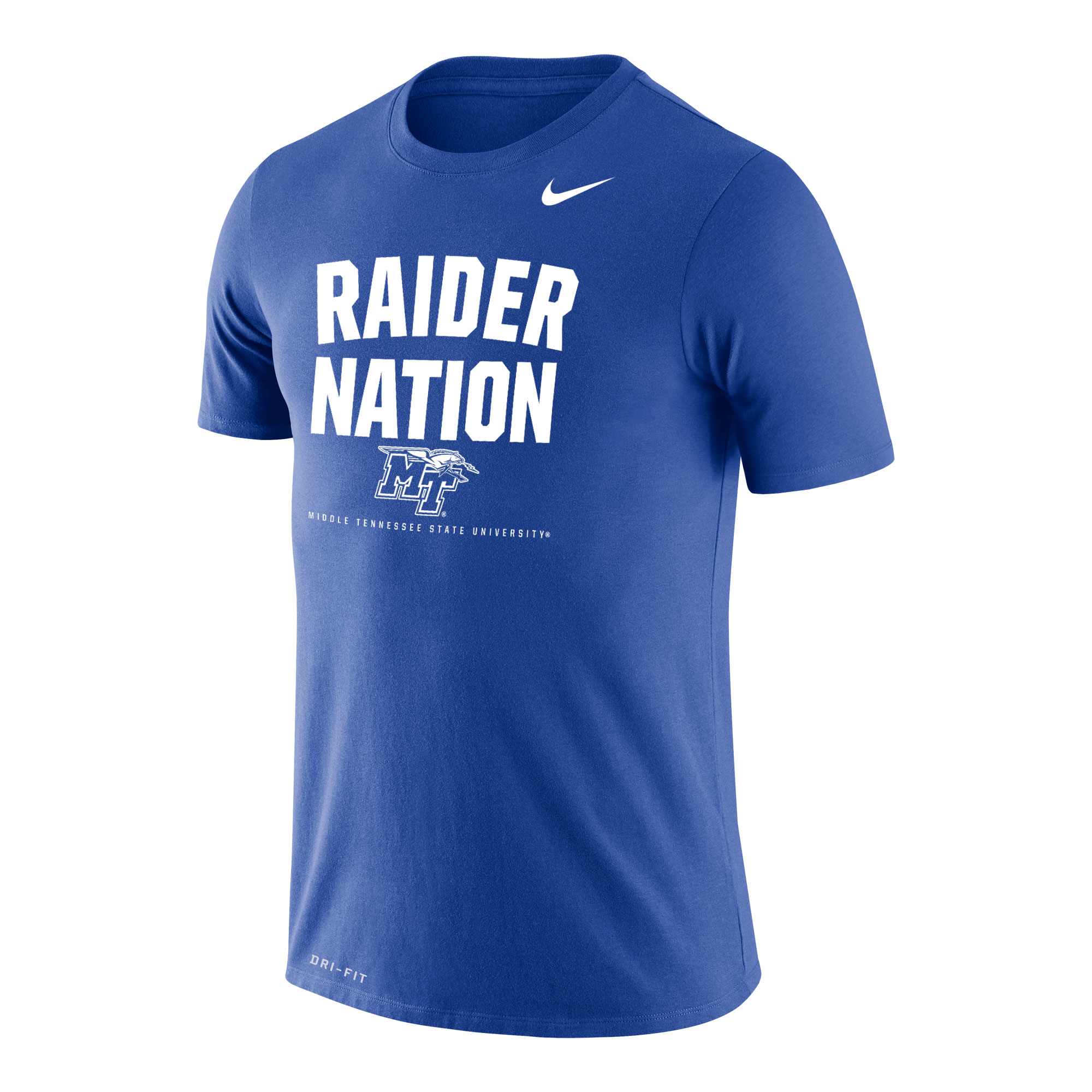 Raider Nation MTSU Nike® Dri-Fit Cotton Shirt