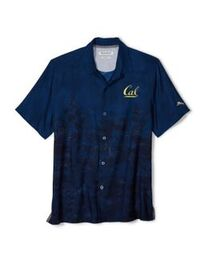Cal Bears Tommy Bahama Men's Floral Fade Button Up
