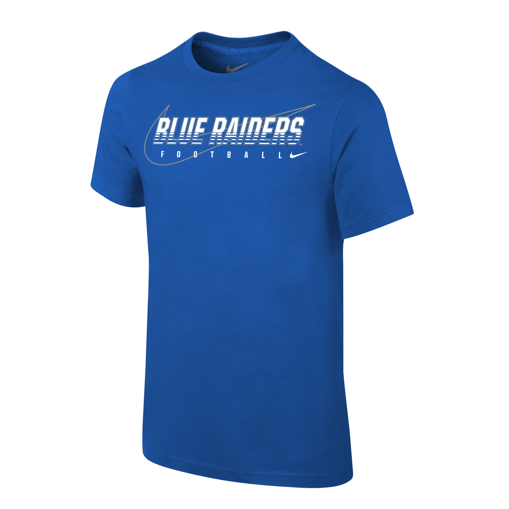 Youth Blue Raiders Football Nike® Sideline Shirt