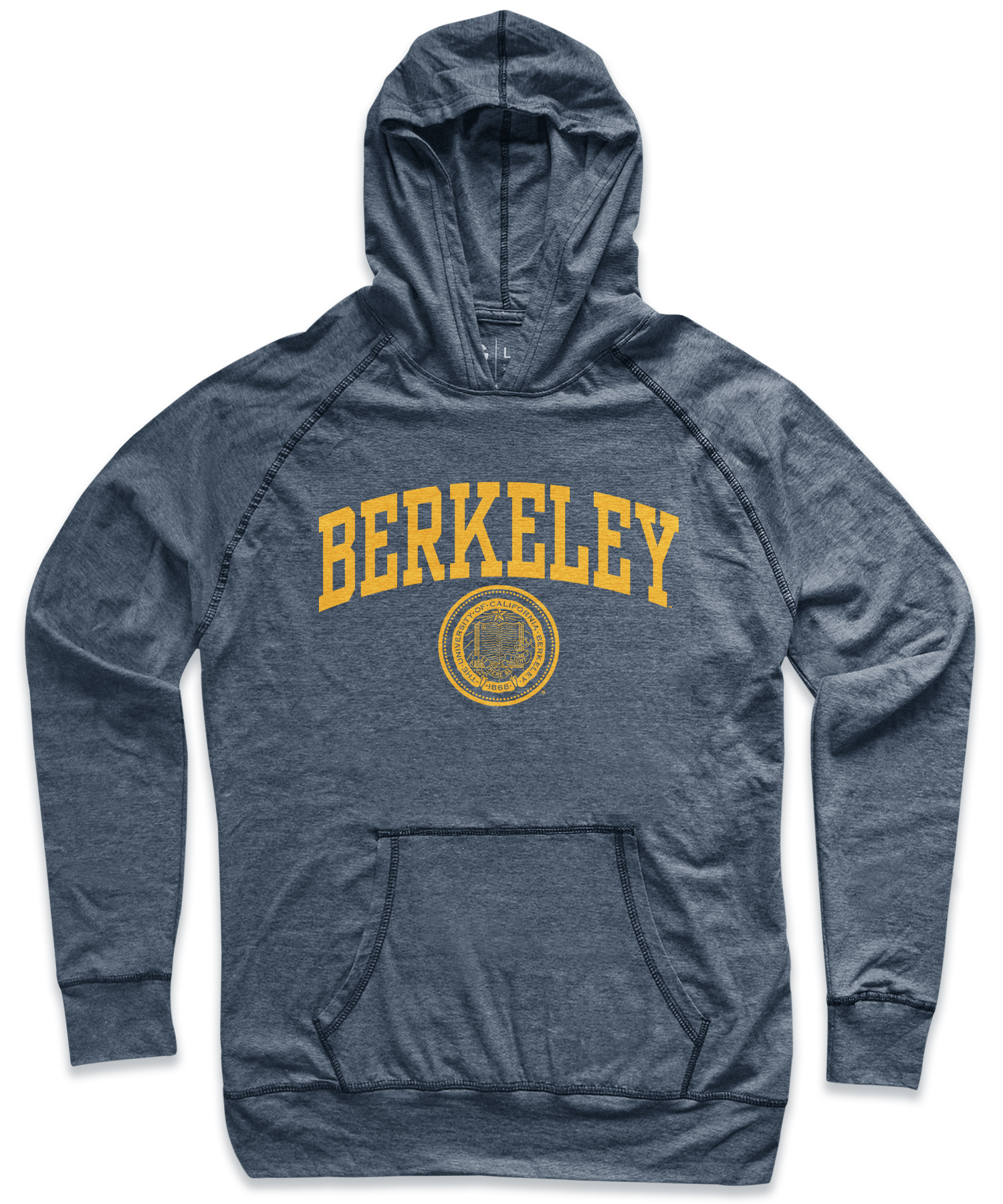 Cal Bears Men's Troy Lightweight Pullover Hood