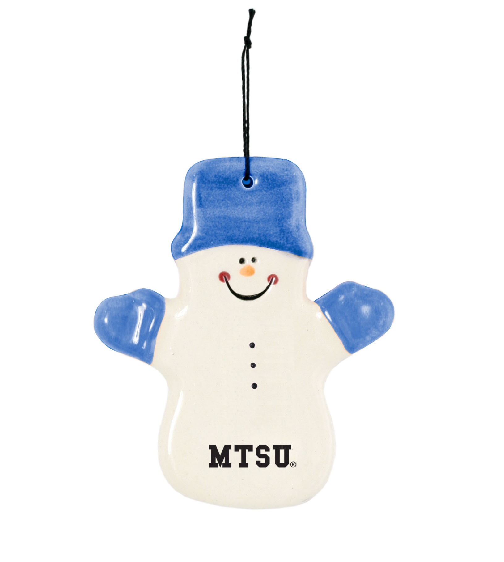 MTSU Claude Snowman Ornament