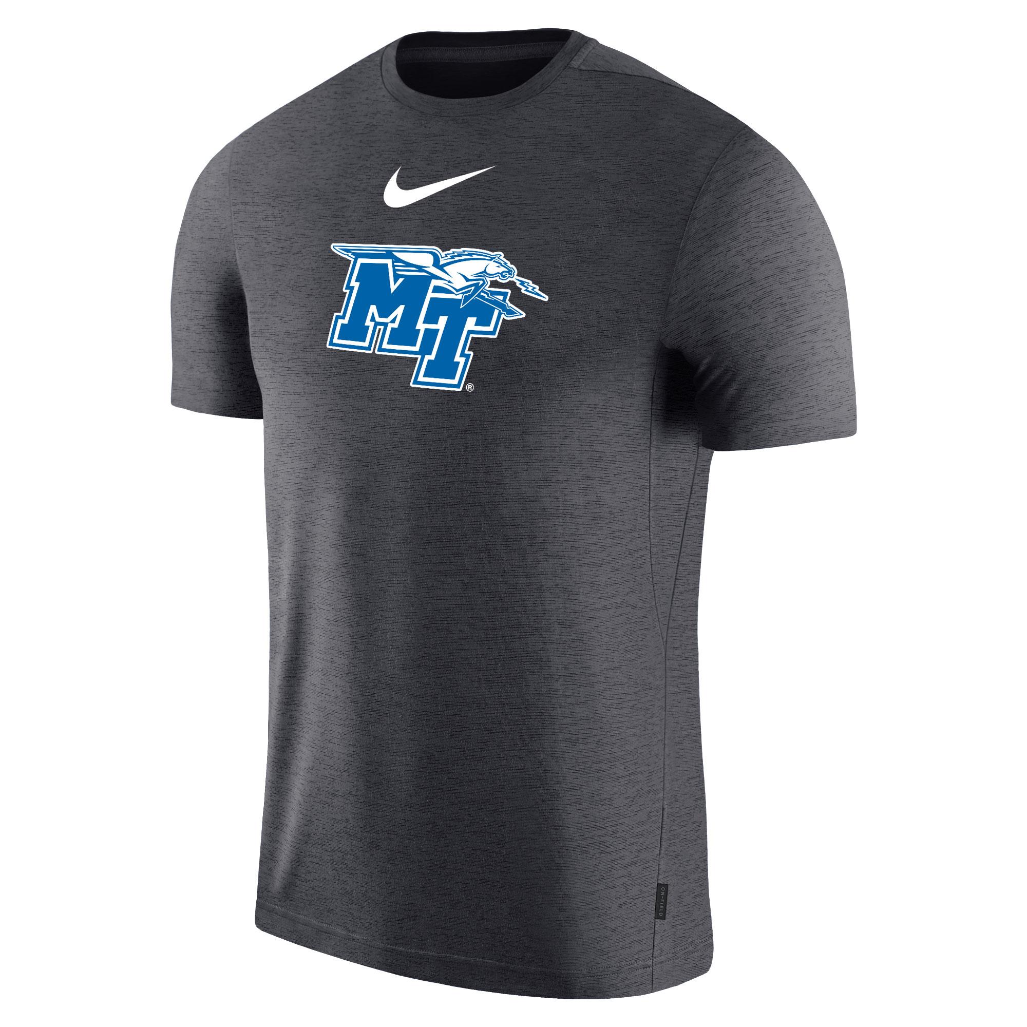 MT Logo w/ Lightning Nike® Sideline Coach Shirt