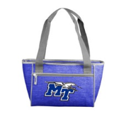 MT Logo w/ Lightning Crosshatch 16 Can Cooler Tote