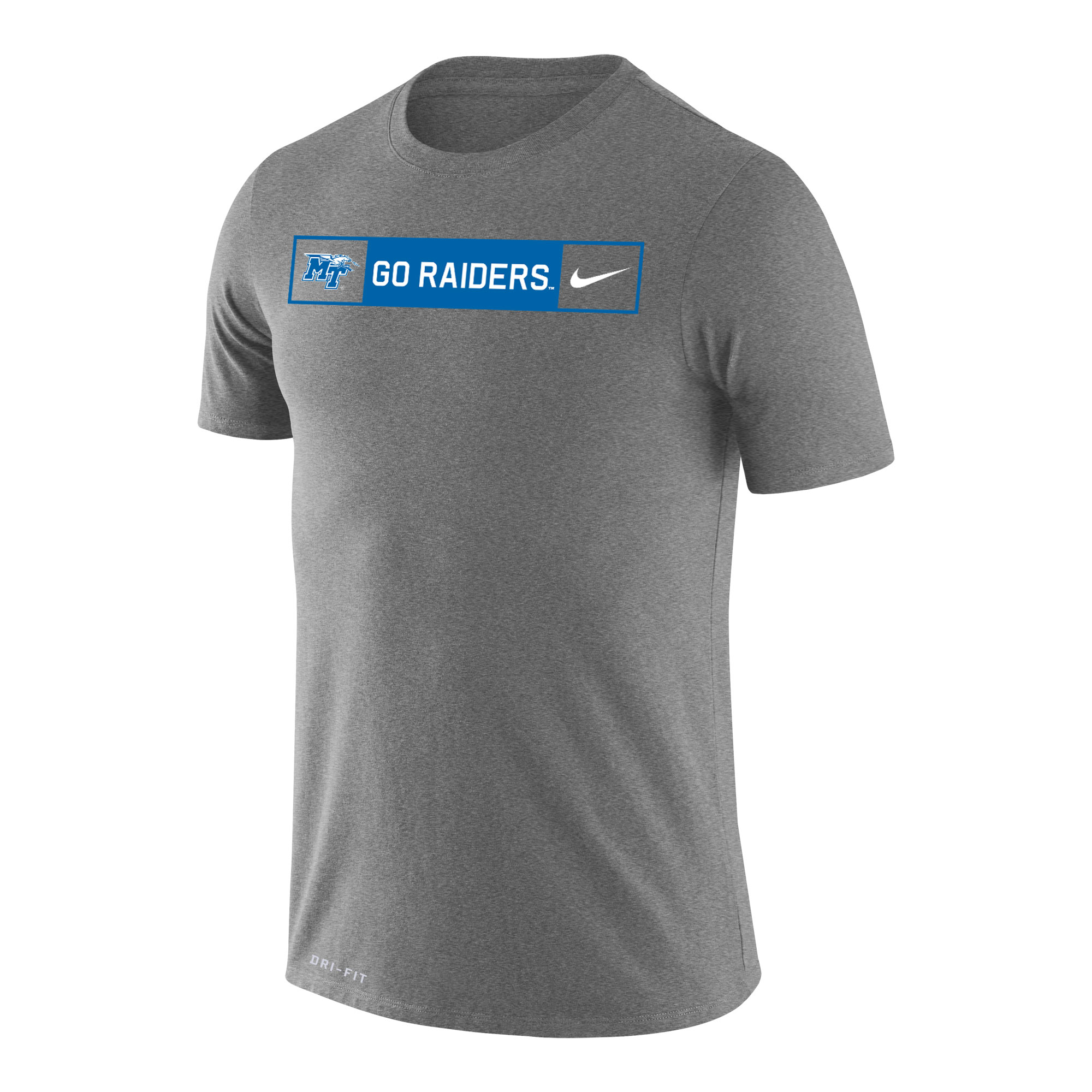 MT Logo w/ Lightning Go Raiders Nike® Dri-Fit Shirt