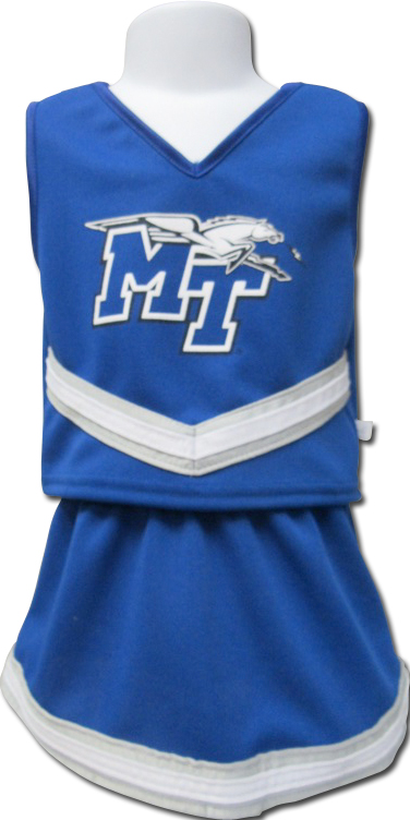 Toddler MT Logo w/ Lightning Polyester Cheer Set