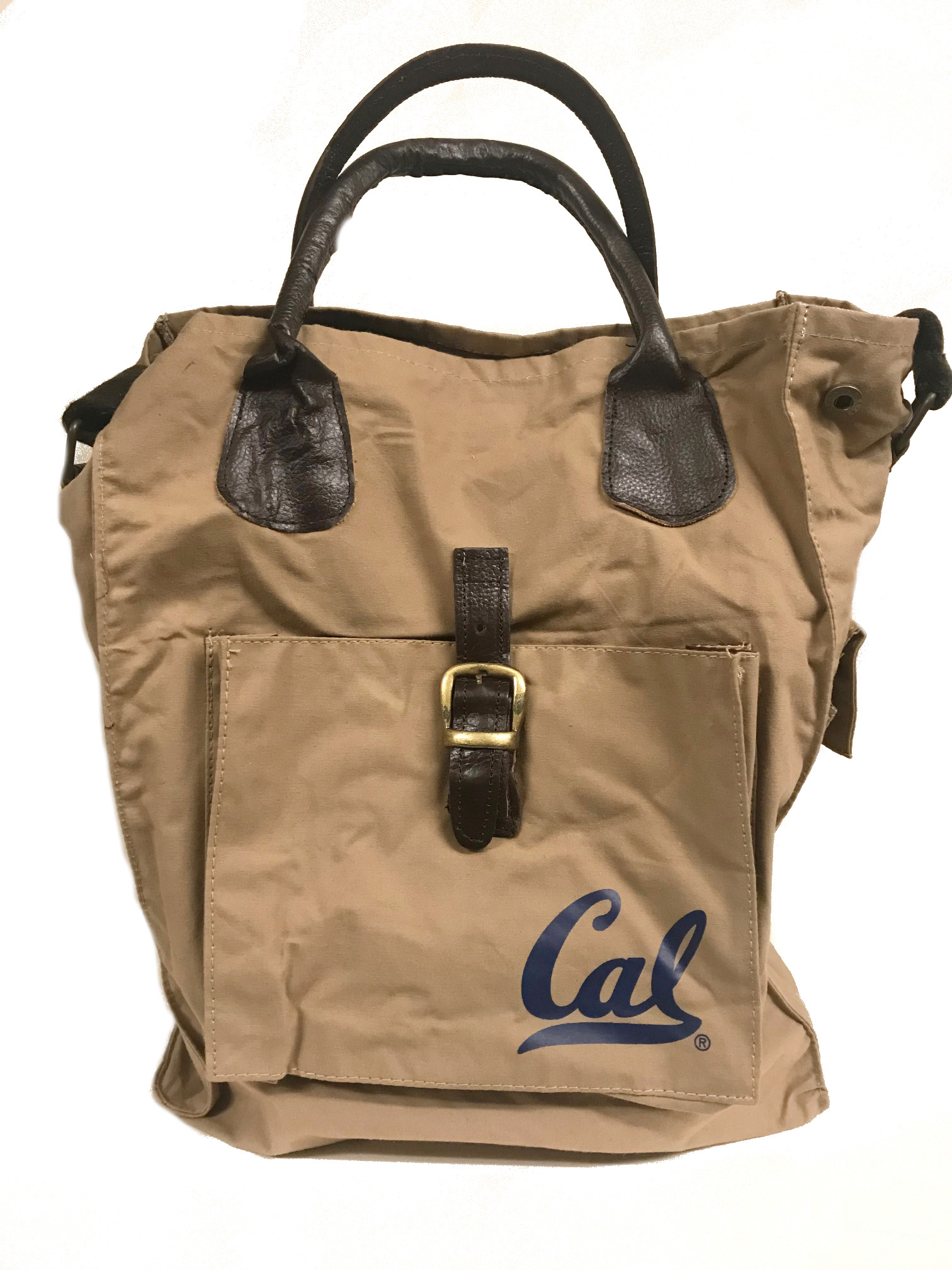 Cal Bears Waxed Cotton Utility Tote